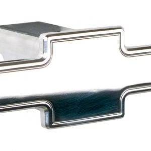 Billet Specialties 210120 Polished Bowtie Cutout Hitch Receiver Cover